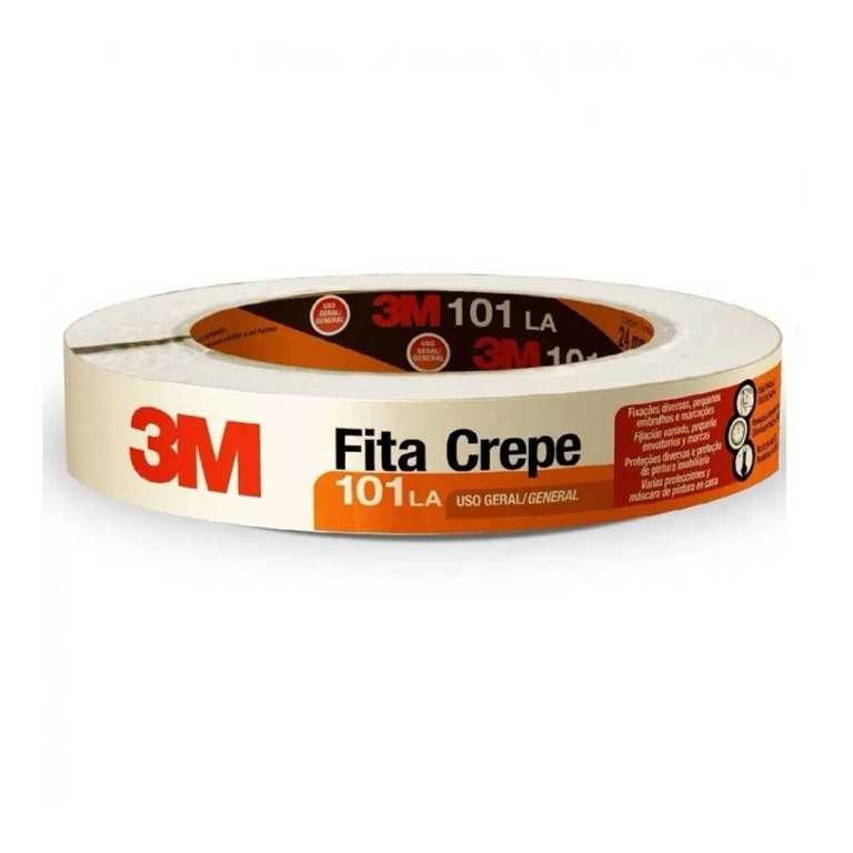 3M - FITA CREPE 101LA USO GERAL 18MM X 50M - UN