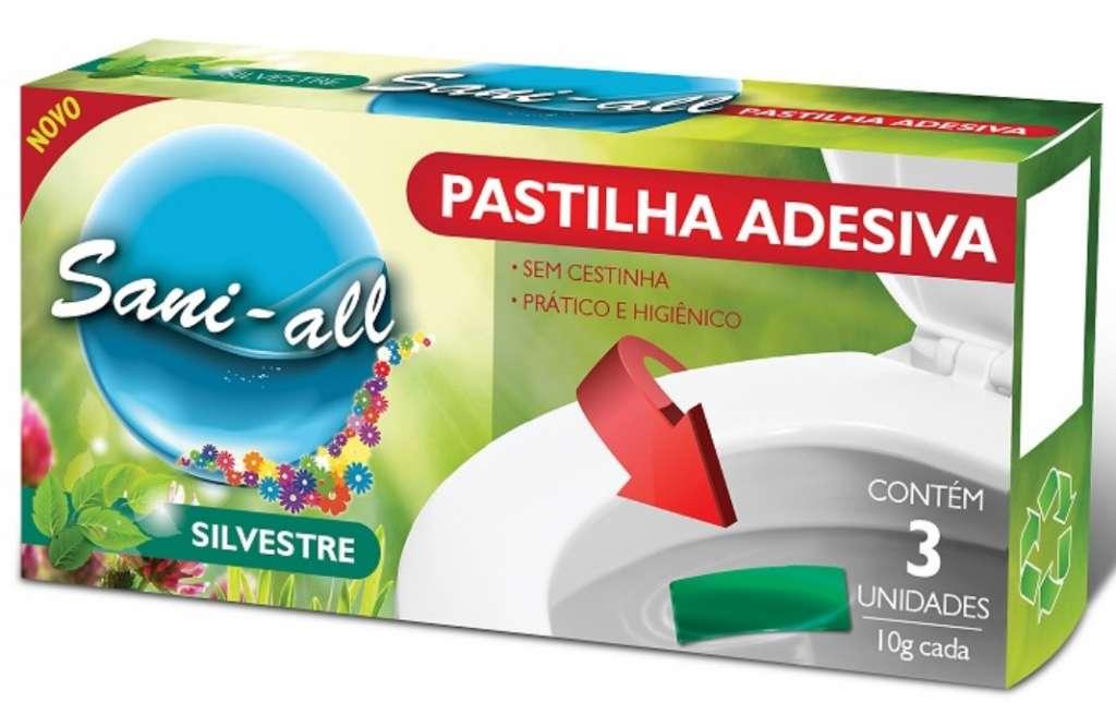 ADESUL - PASTILHA ADESIVA SANI-ALL SILVESTRE 10G COM 3 - .CX.24UN