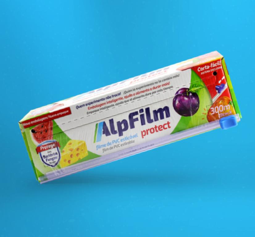 ALPES - ALPFILM PVC TRILHO 280 X 300M - UN