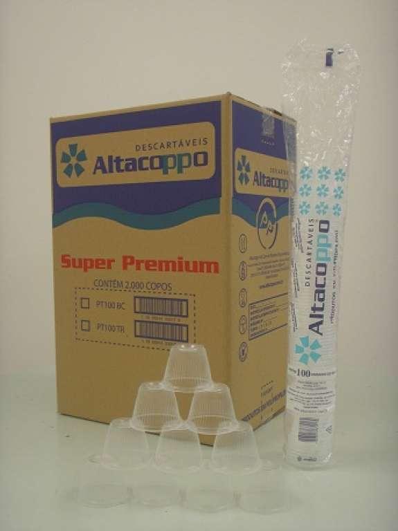 ALTACOPPO - POTE 100ML TRANSPARENTE - CX.20X100UN