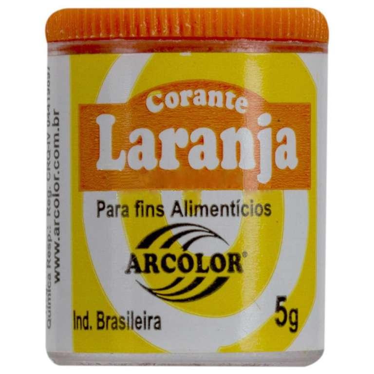 ARCOLOR - CORANTE ARCOLOR 5G VIDRO LARANJA - UN