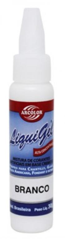 ARCOLOR - CORANTE LIQUIGEL BRANCO 60G - UN