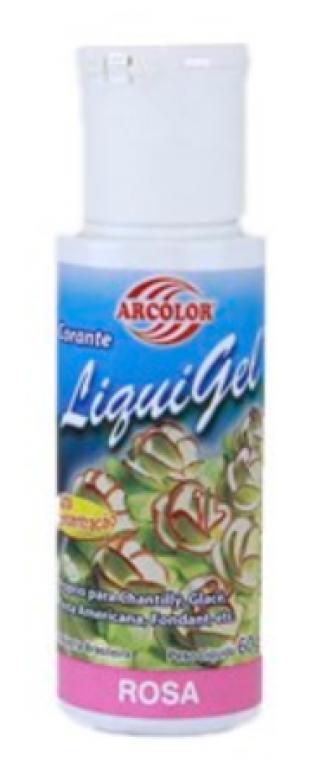ARCOLOR - CORANTE LIQUIGEL ROSA 60G - UN