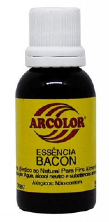 ARCOLOR - ESSENCIA AL. BACON 30ML - UN