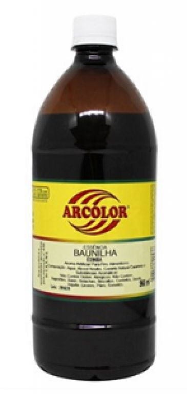 ARCOLOR - ESSENCIA AL. BAUNILHA 960ML - UN