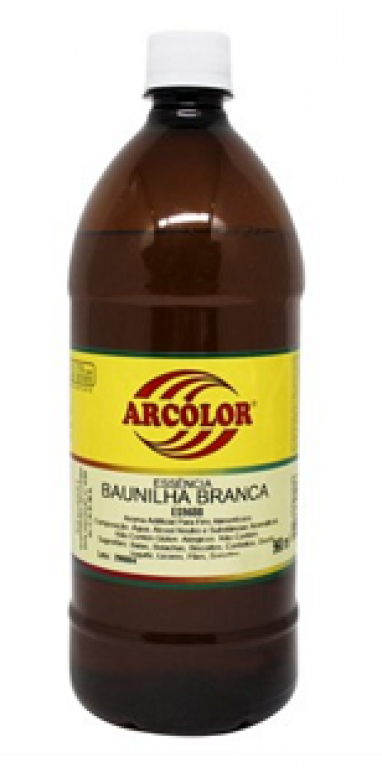 ARCOLOR - ESSENCIA AL. BAUNILHA BRANCA 960ML - UN