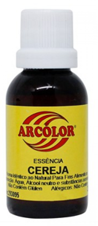 ARCOLOR - ESSENCIA AL. CEREJA 30ML - UN