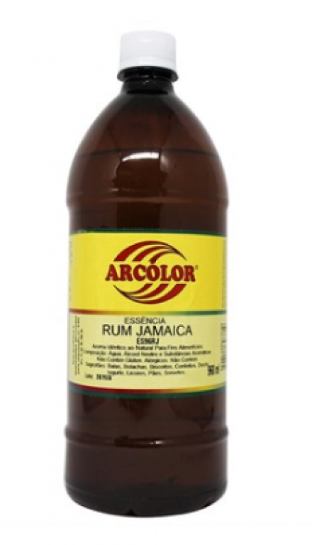 ARCOLOR - ESSENCIA AL. RUM JAMAICA 960ML - UN