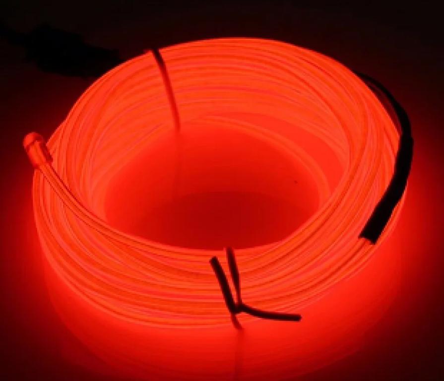 BRILHA - FIO DE LED C/100 LUZES UBS E CONTROLE VERMELHO - 10MTS