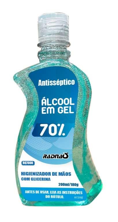 BRISA - ALCOOL GEL 70 200ML - CX.24UN