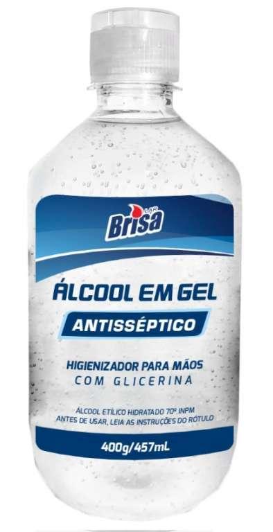 BRISA - ALCOOL GEL 70 457ML - CX.12UN