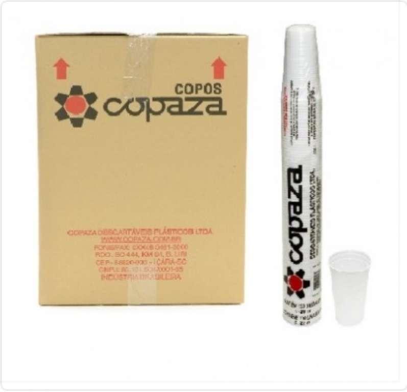 COPAZA - COPO PREMIUM 150 ML BRANCO - CX.25X100UN