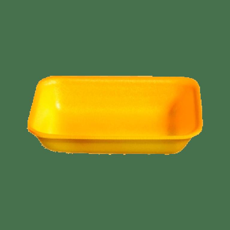 COPOBRAS - BANDEJA EPS CFL-004 AMARELA (275X150X29MM) - PT.100UN