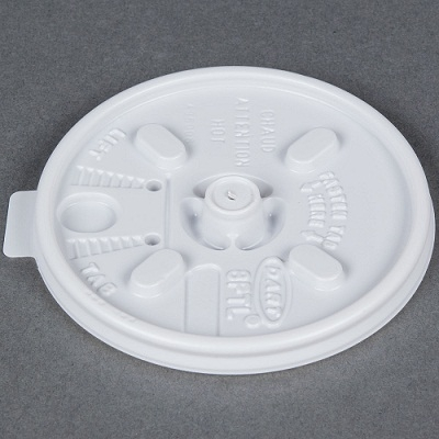 DART - TAMPA BRANCA COM ABERTURA (8FTLBR) - CX.10X100UN