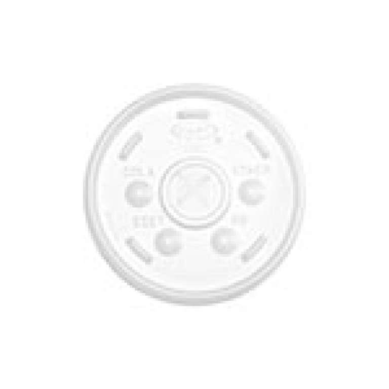 DART - TAMPA TRANSPARENTE COM PERFURACAO (16SL) - CX.10X100UN