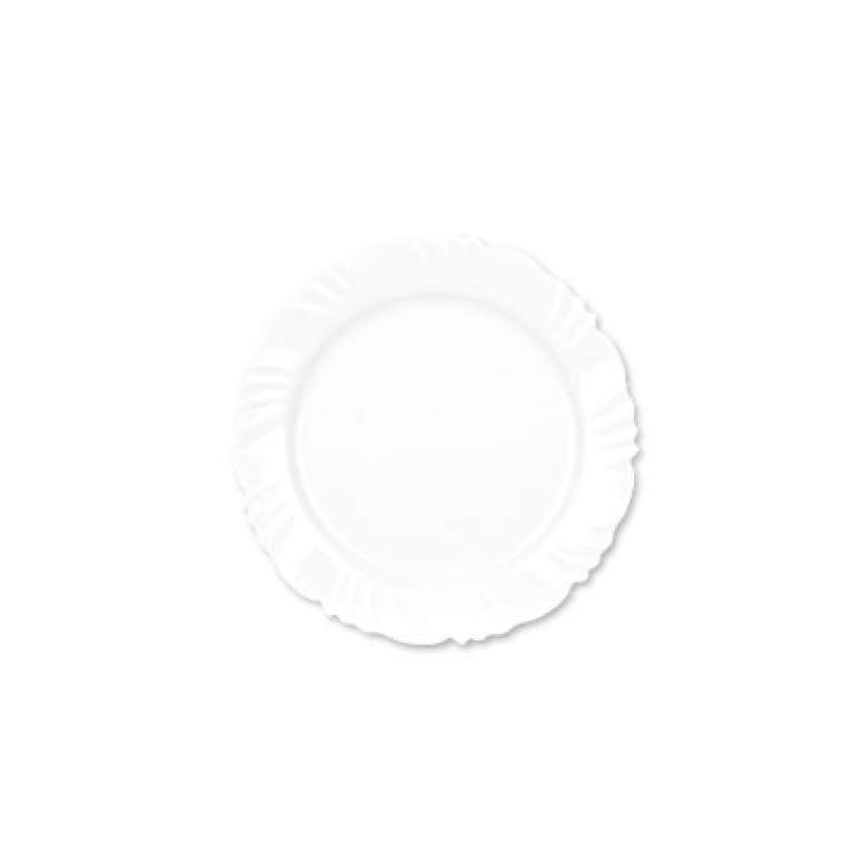 DISLAR - PRATO OPALINE PETALA SOBREMESA 19.5CM CX.24 UN