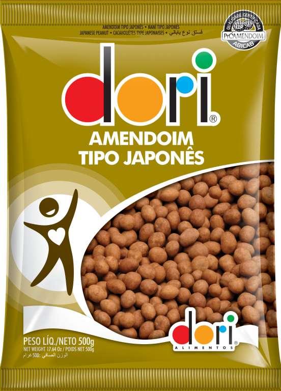 DORI - AMENDOIM JAPONES 500G - UN