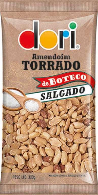 DORI - AMENDOIM TORRADO SALGADO 320G - UN