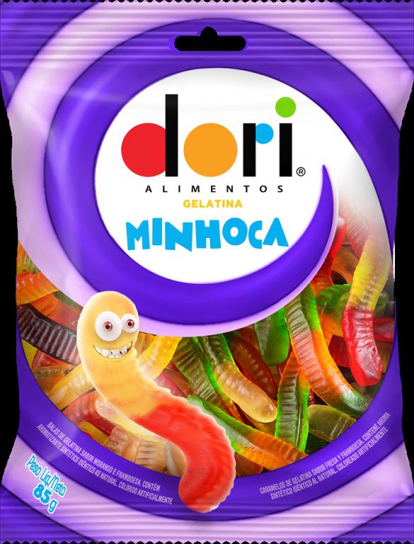 DORI - GELATINA MINHOCA 85GR - UN