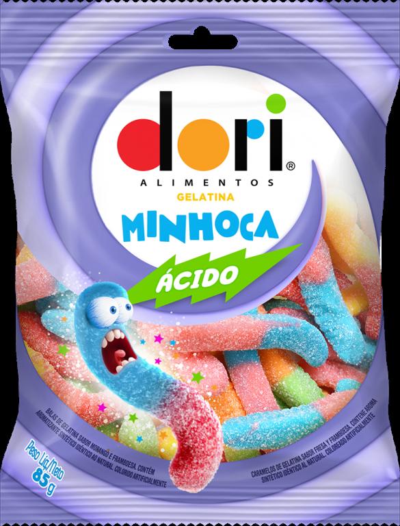 DORI - GELATINA MINHOCA ACIDA 85GR - UN