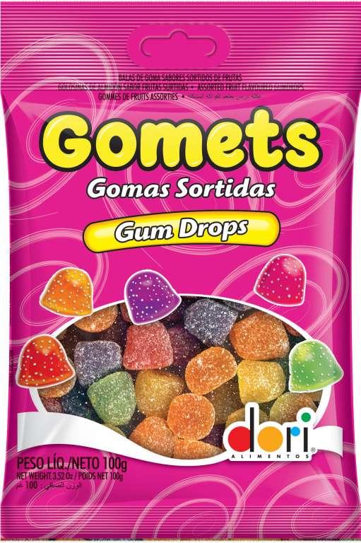 DORI - GOMETS GOMA SINO 100GR - CX.30UN