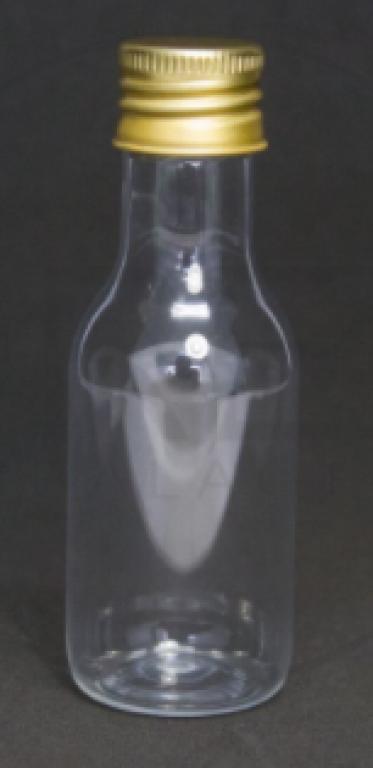 DREX - GARRAFINHA PET 50 ML C/TP ALUMINIO DOURADA - UN
