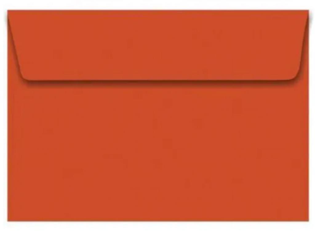 FORONI - ENVELOPE CONVITE VERMELHO 1795 162X229 - CX.100UN
