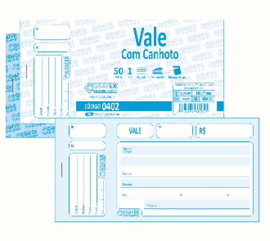 GRAFEX - VALE F050 COM CANHOTO - PT.10 BLS