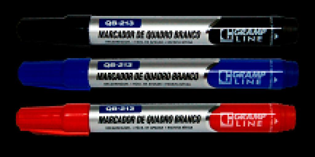 GRAMP LINE - MARCADOR QUADRO BRANCO QB213 PRETO - CX.12UN