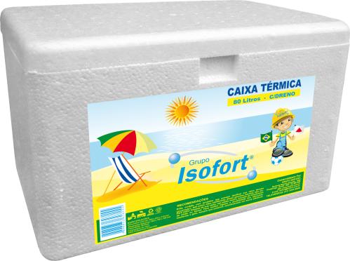 ISOFORT - CAIXA TERMICA EPS 080 LTS