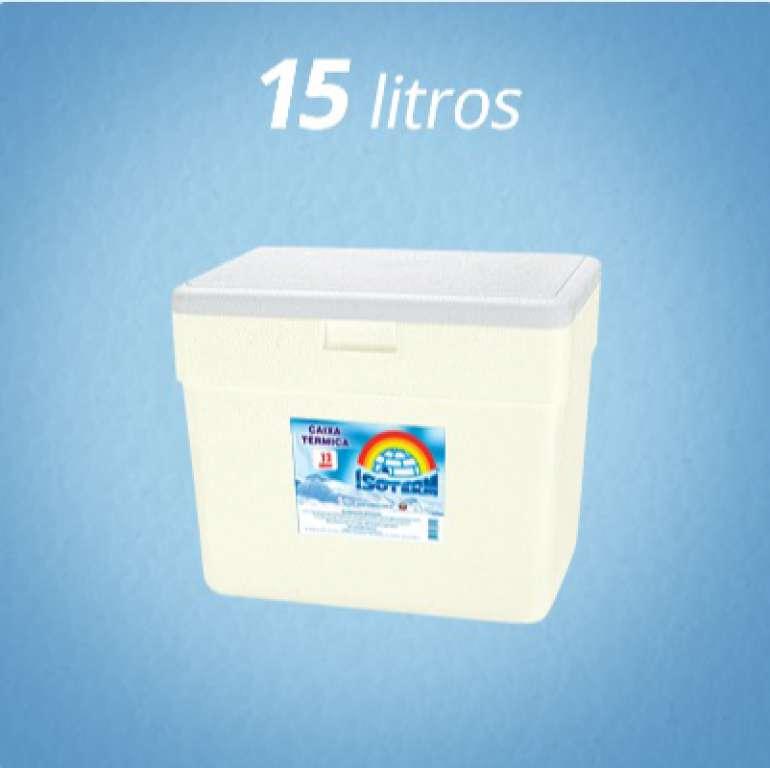 ISOTERM - CAIXA TERMICA 015 LTS (7KG PEIXE) - UN