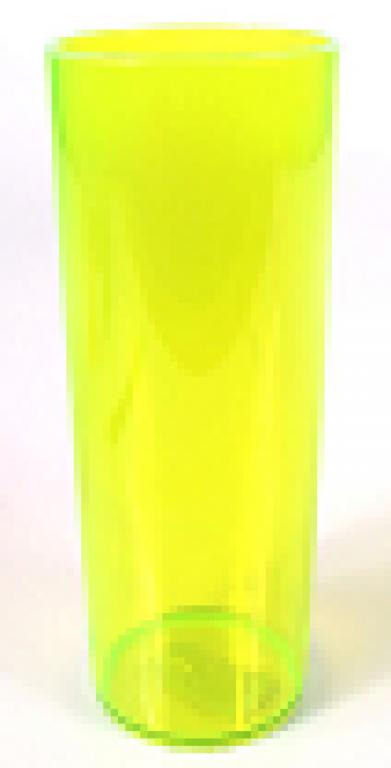 JE PLAFER - COPO LONG DRINK 310ML CRISTAL AMARELO - CX.46UN