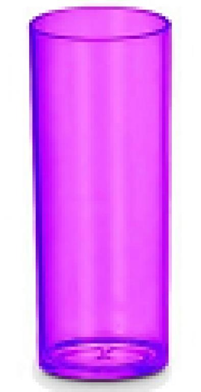 JE PLAFER - COPO LONG DRINK 310ML CRISTAL LILAS - CX.46UN