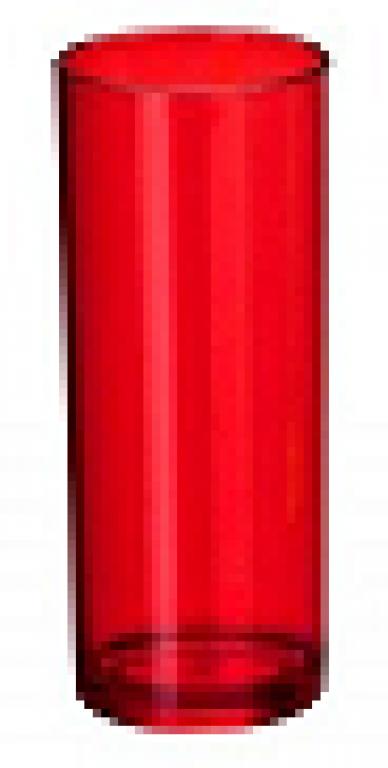 JE PLAFER - COPO LONG DRINK 310ML CRISTAL VERMELHO - CX.46UN