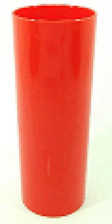 JE PLAFER - COPO LONG DRINK 310ML VERMELHO - CX.46UN