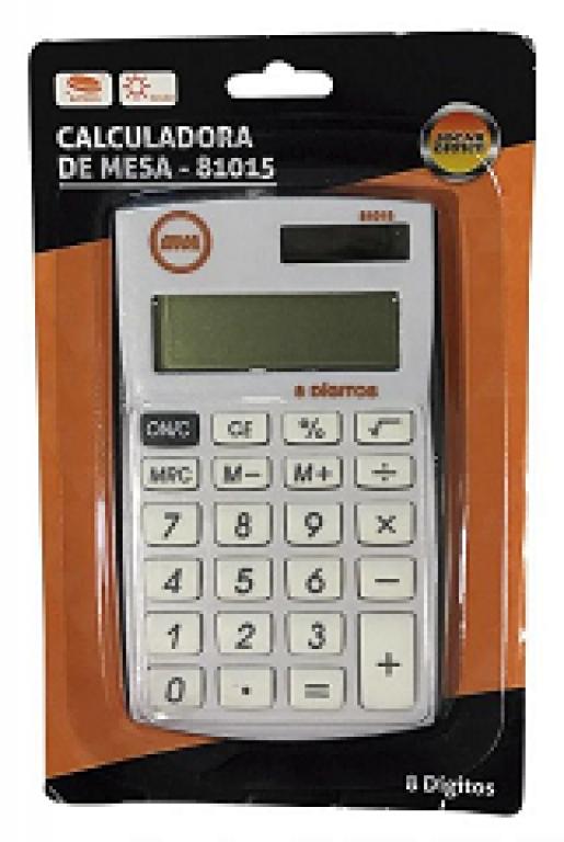 JOCAR OFFICE - CALCULADORA 8DIG MESA 322BK - UN