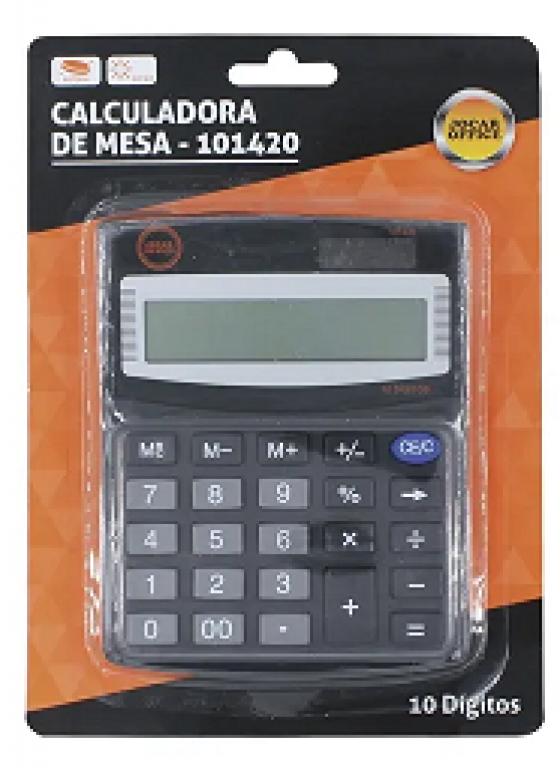 JOCAR OFFICE - CALCULADORA DE MESA 10 DIGITOS 810-10 - UN