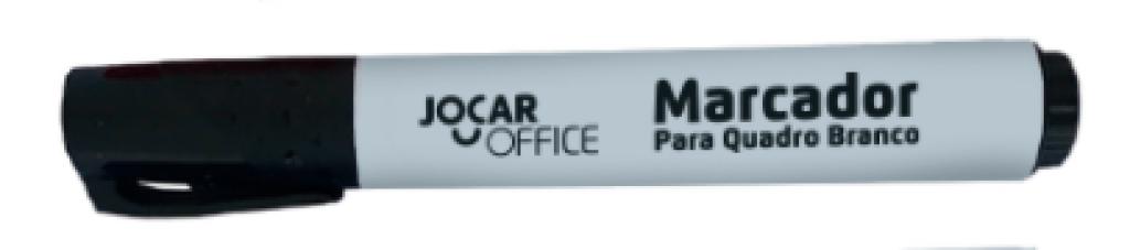 JOCAR OFFICE - MARCADOR P/ QUADRO BRANCO PRETO - UN