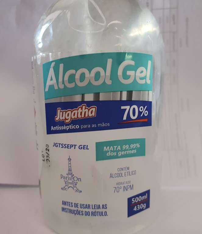 JUGATHA - ALCOOL GEL 70 500 ML - UN