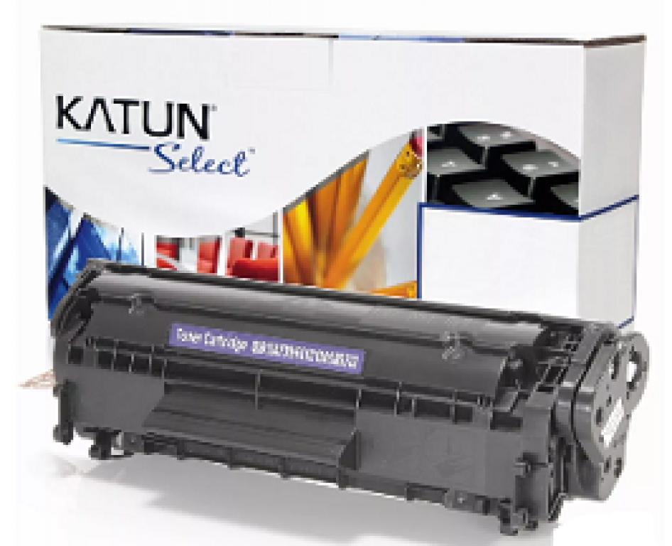 KATUN - CARTUCHO TONER P/ HP LASER JET 1010 Q2612A SELECT 2K PTO  - UN