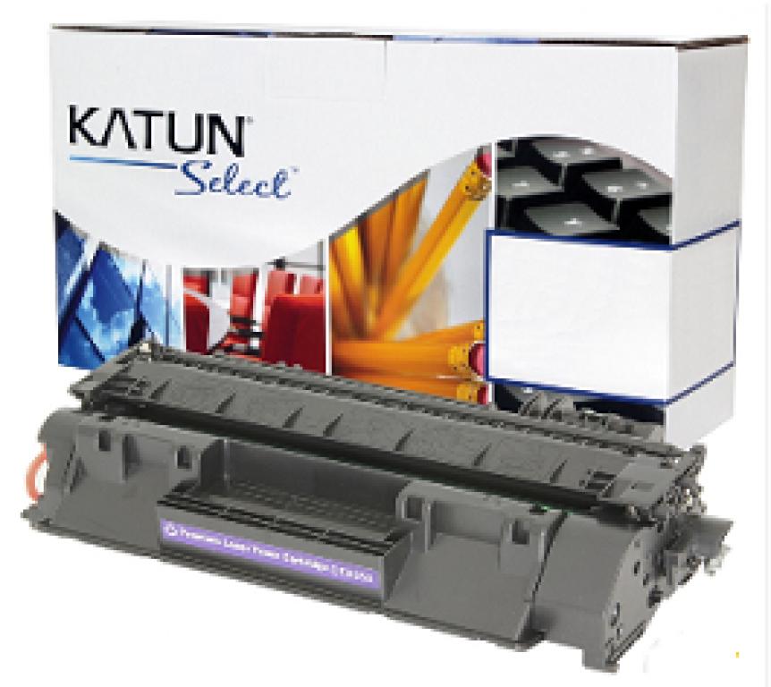 KATUN - CARTUCHO TONER P/ HP LASER JET P2055 CE505X SELECT 6.9K PTO  - UN