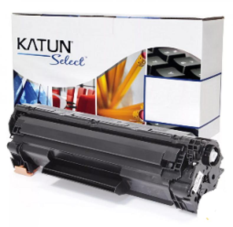 KATUN - CARTUCHO TONER P/ HP P1005 P1505 P1102 CB436A CE285A SELECT 2K PTO  - UN
