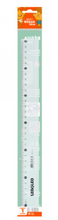 LEOELEO - REGUA PLASTICA 30CM - UN