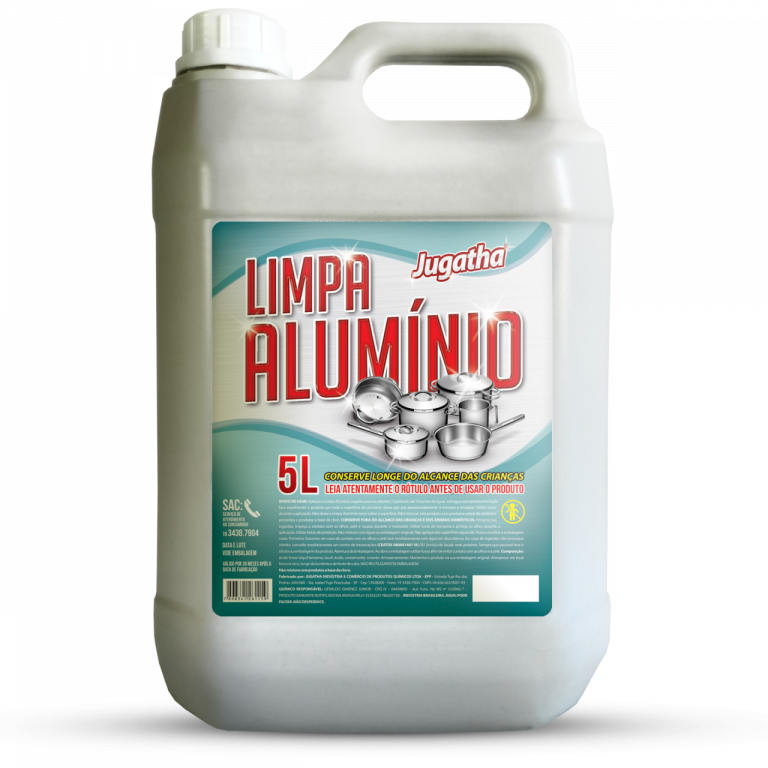 MAGIA CLEAN - LIMPA ALUMINIO ROXO 5LTS - CX04.UN