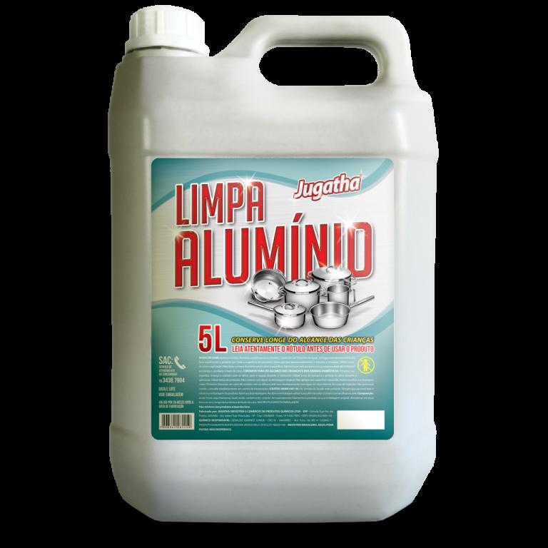 MAGIA CLEAN - LIMPA ALUMINIO ROXO 5LTS - UN