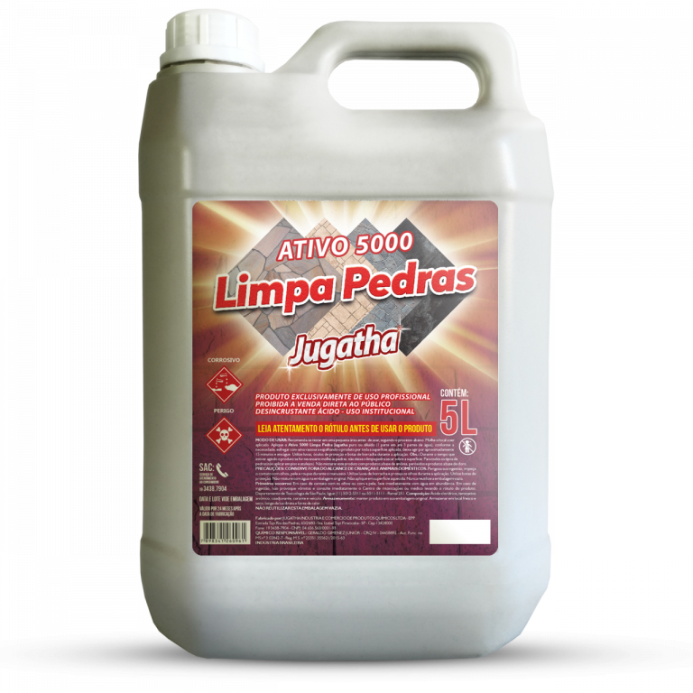 MAGIA CLEAN - LIMPA PEDRA ROXO 5LTS - CX04.UN
