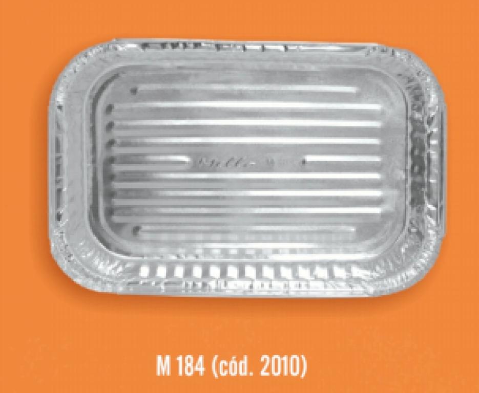 MELLO - BANDEJA M184 COM TAMPA 1500ML (270X180X35) - CX.100UN