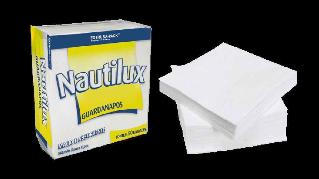 MP - GUARDANAPO NAUTILUX FOLHA SIMPLES 20 X 20 - FD.50X50UN