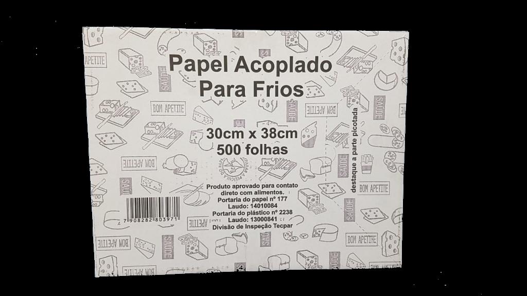 MP - PAPEL ACOPLADO PARA FRIOS 30 X 38 - CX.500FLS
