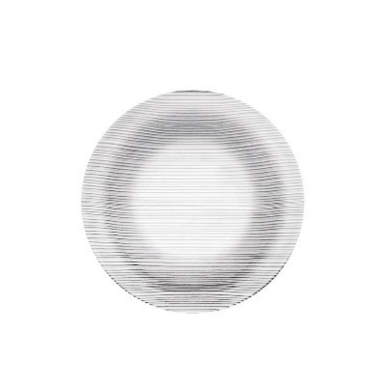 NADIR - PRATO DURALEX DIAMANTE FUNDO 22CM(5838) - CX.24UN
